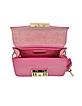 Metropolis Pinky Leather Mini Crossbody Bag  - Furla