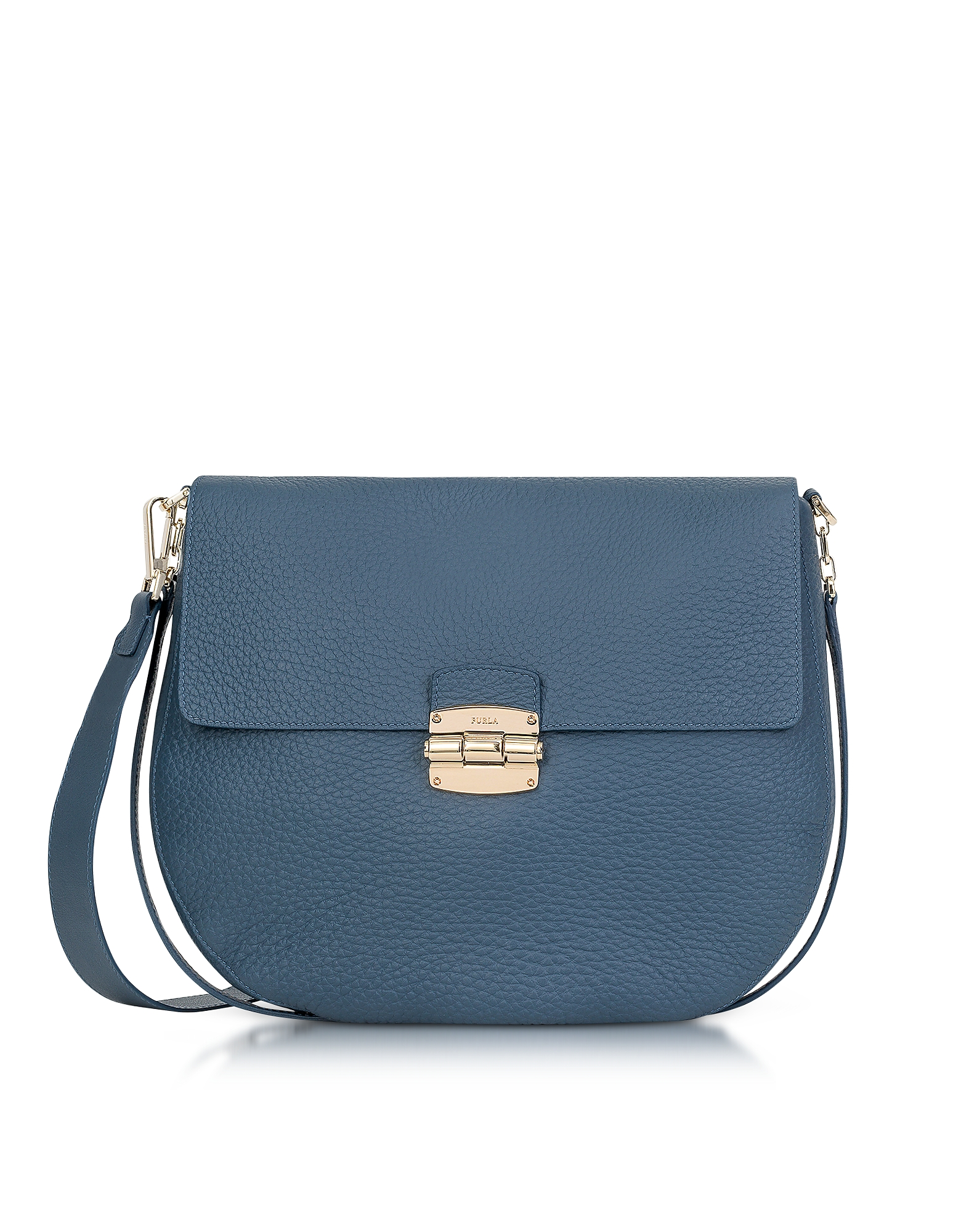 Furla Handbags, Club M Dark Avion Leather Crossbody Bag