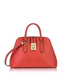 Ruby Milano Medium Leather Handle Bag - Furla