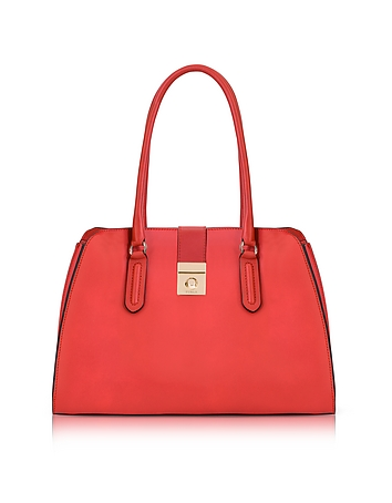 Ruby Milano Medium Leather Tote Bag