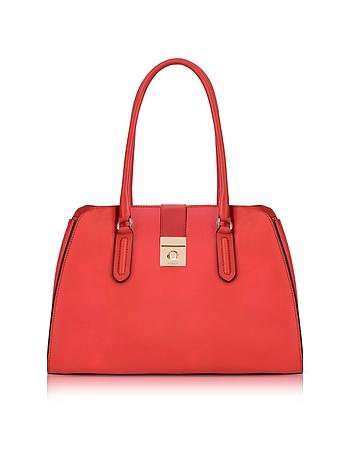 Ruby Milano Medium Leather Tote Bag