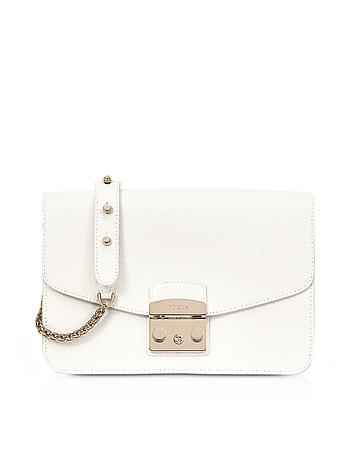 Furla - Petalo Metropolis Small Leather Shoulder Bag