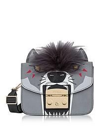 Metropolis Jungle Wolf Mini Crossbody Bag - Furla