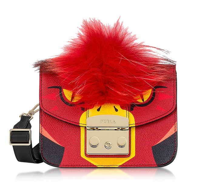Metropolis Jungle Parrot Mini Crossbody Bag