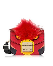 Metropolis Jungle Parrot Mini Crossbody Bag - Furla