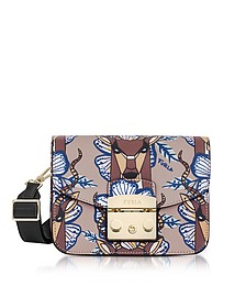 Antilope Leather Metropolis Mini Crossbody Bag - Furla