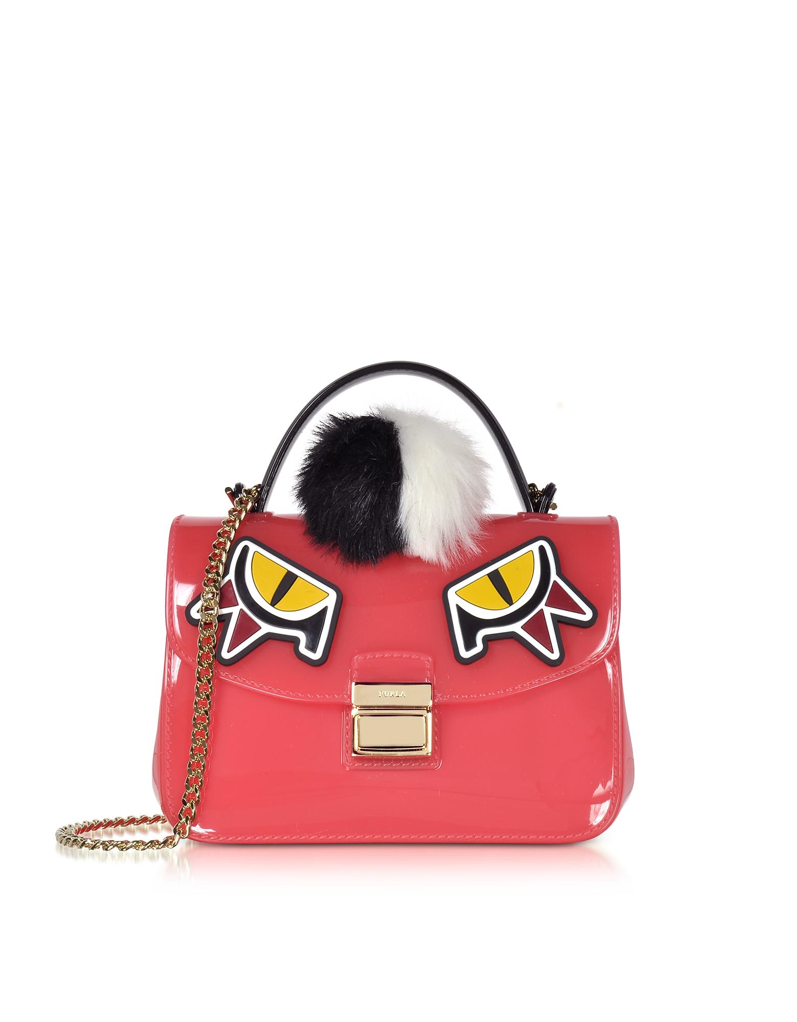 Furla Handbags, Pink Candy Jungle Sugar Mini Crossbody Bag