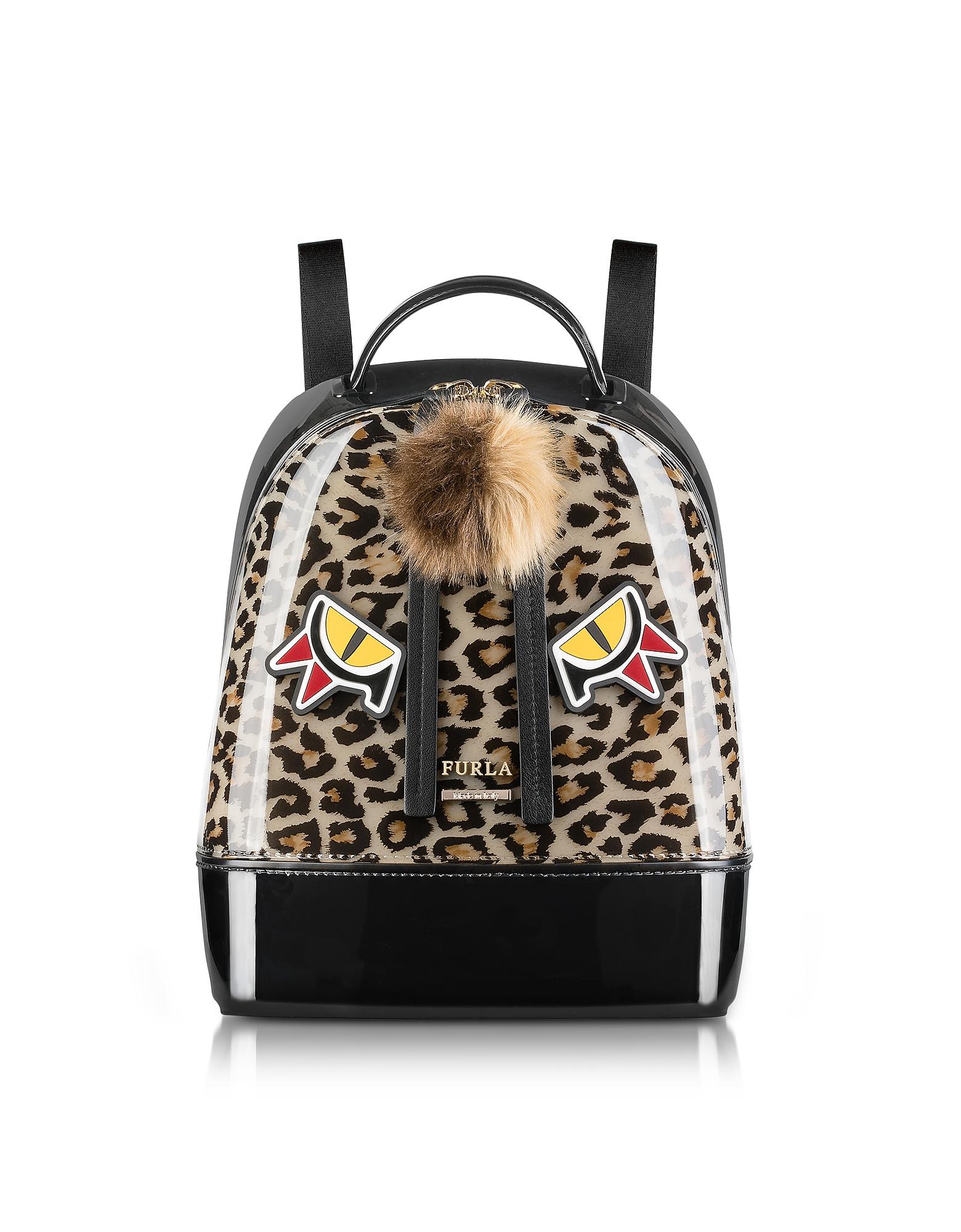 Furla Handbags, Leopard Print and Toni Glace Candy Jungle Small Backpack
