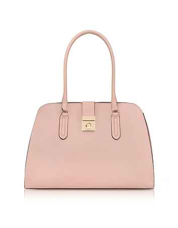 Furla - Moonstone Milano Medium Leather Tote Bag