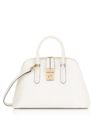 Furla - Petalo Milano Medium Leather Satchel Bag