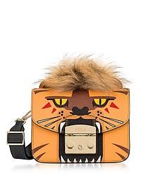Metropolis Jungle Leo Mini Crossbody Bag - Furla