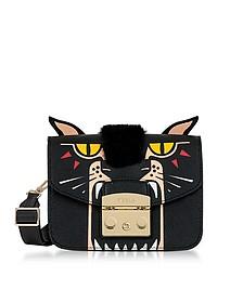 Metropolis Jungle Panther Mini Crossbody Bag - Furla