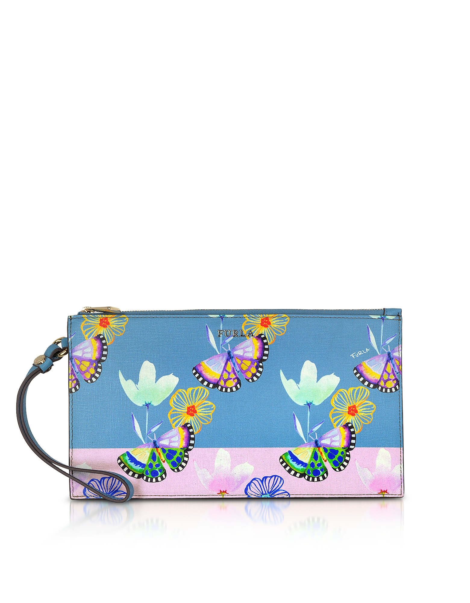 Babylon XL Clutch Envelope Clutch Stampa Butterfly