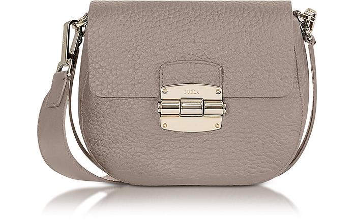 Club Mini Pebble Leather Crossbody Bag - Furla