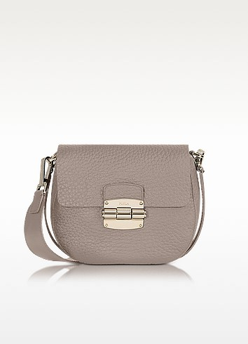 Club Mini Pebble Leather Crossbody Bag - Furla