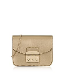 Bronze Metropolis Mini Crossbody Bag - Furla