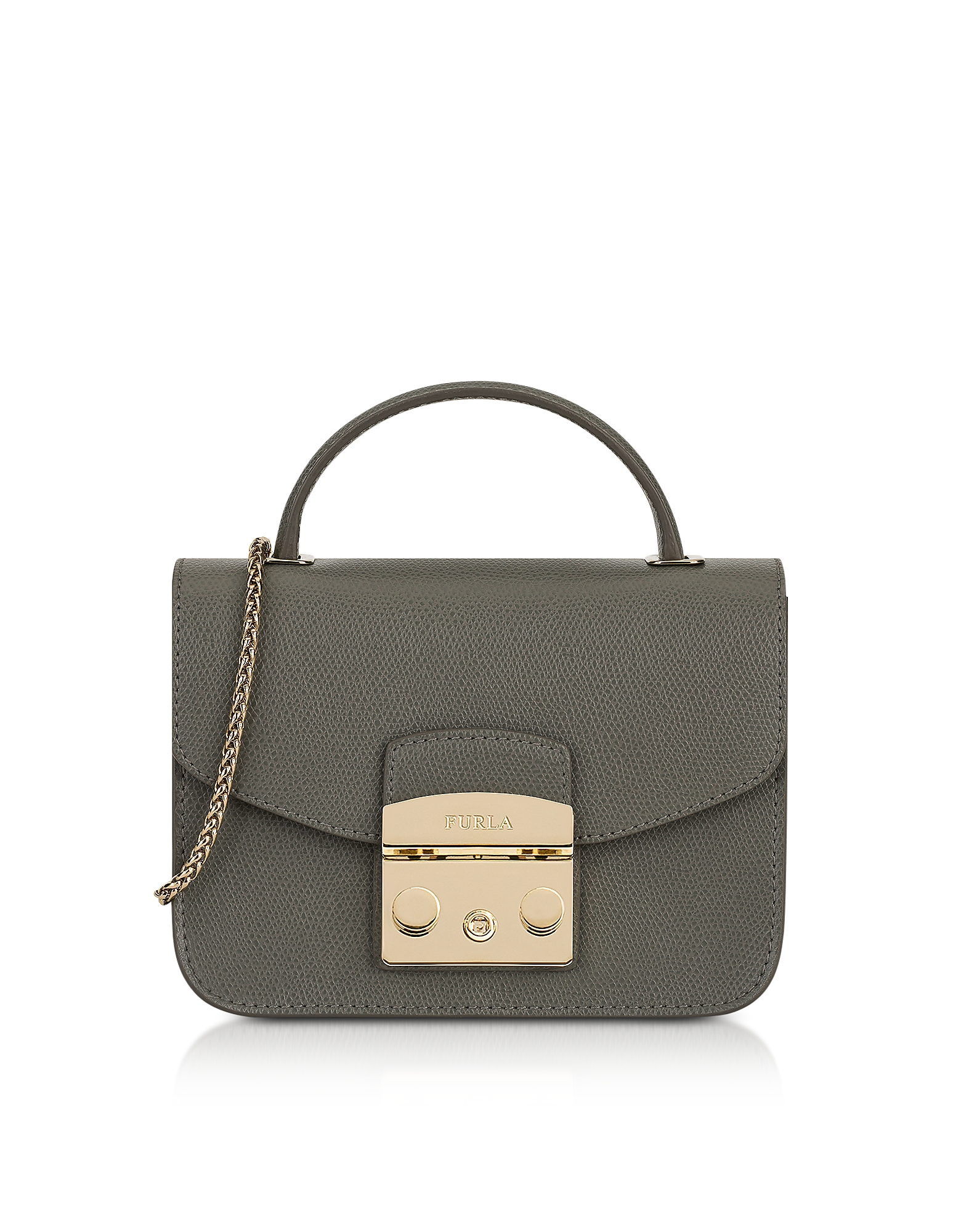 Furla Handbags, Argilla Metropolis Mini Top Handle Crossbody Bag