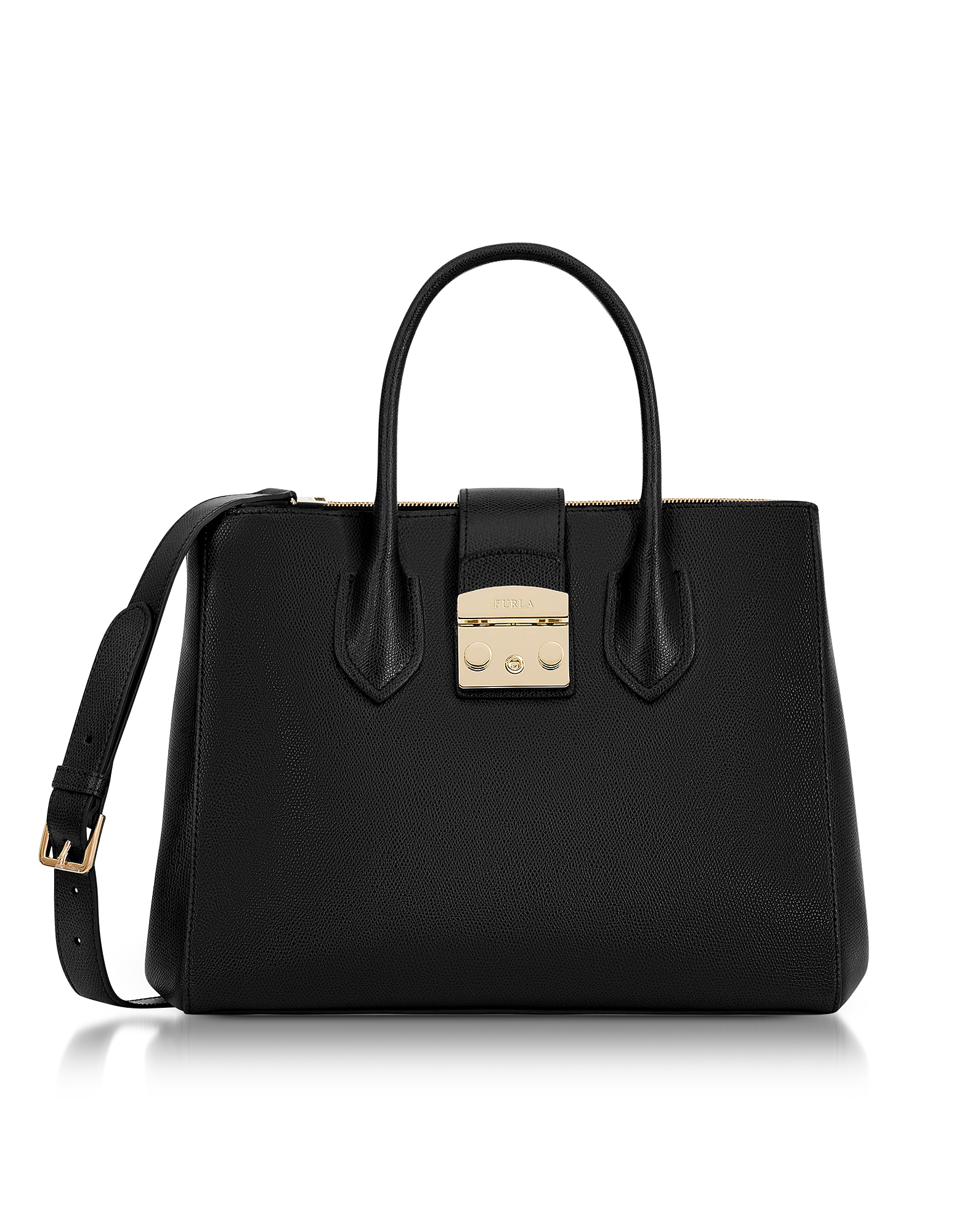 Furla Handbags, Onyx Metropolis Medium Tote Bag