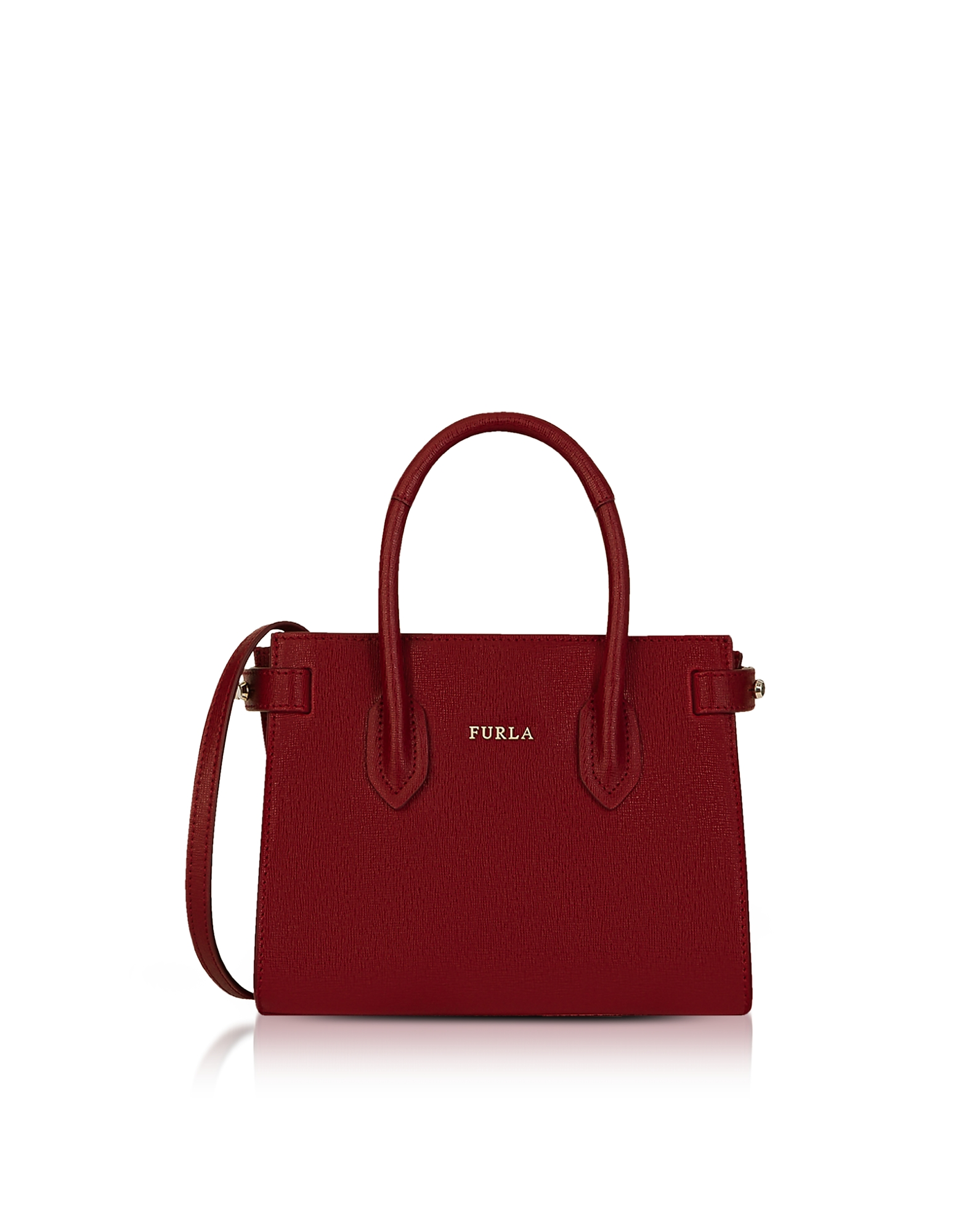 Furla Handbags, Pin Mini Tote Bag w/Shoulder Strap