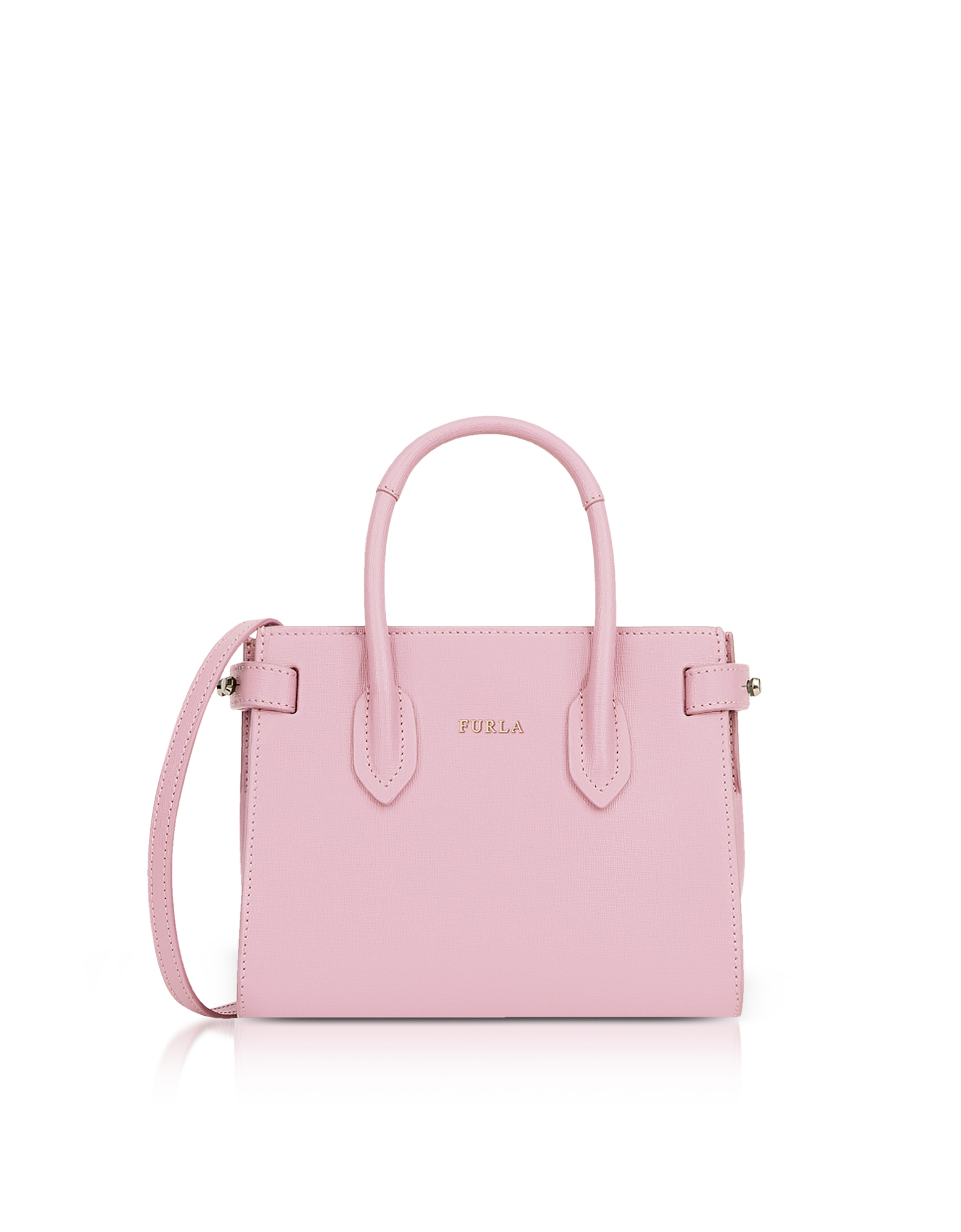 Furla Handbags, Pin Mini Tote Bag w/Shoulder Strap
