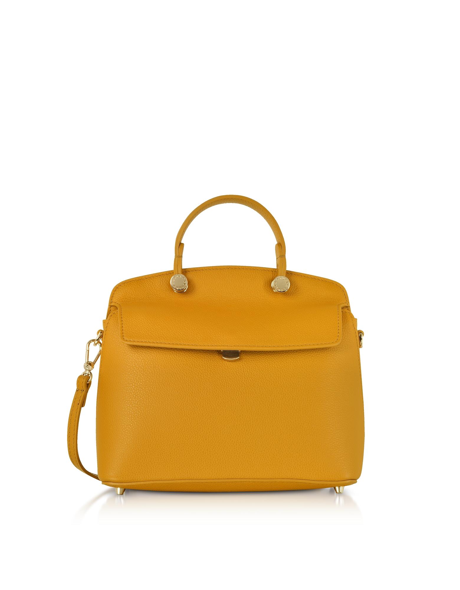 Furla Handbags, My Piper Small Top Handle Satchel Bag