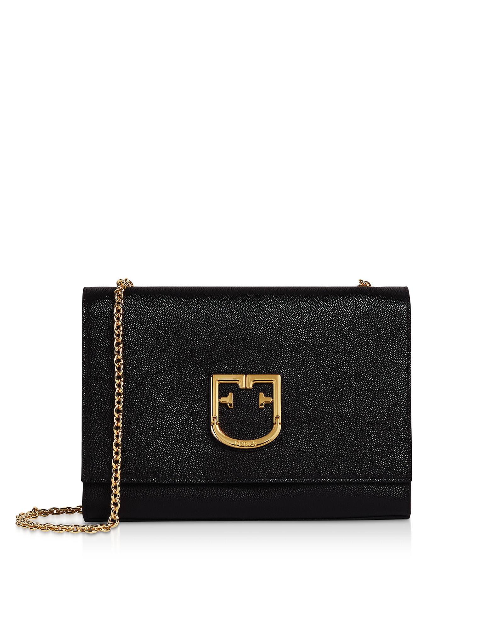 Onyx Leather Viva S Pochette