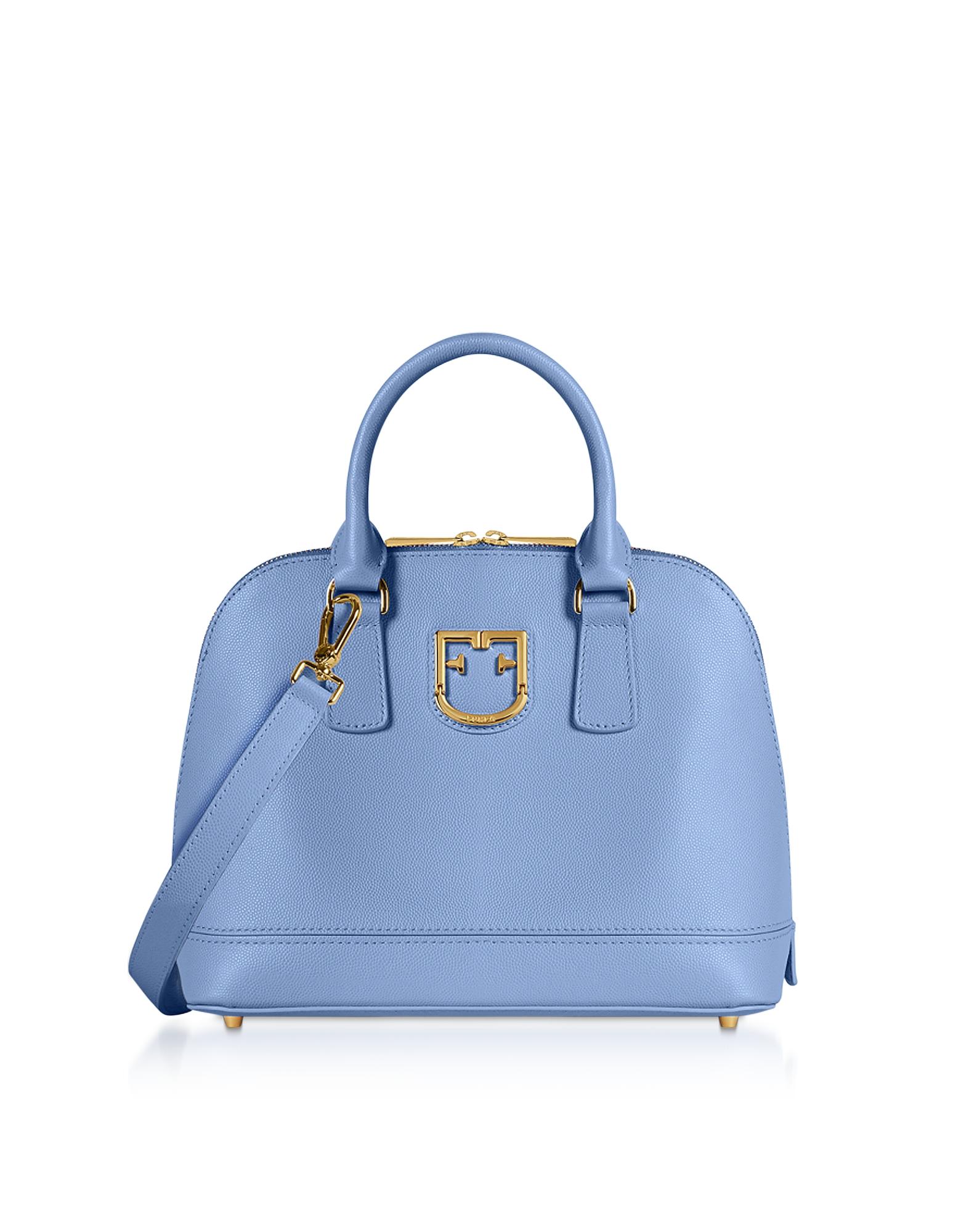 Furla Designer Handbags, Fantastica S Dome Satchel Bag