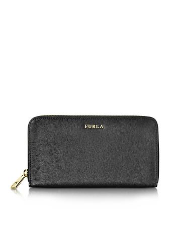 Furla - Babylon XL Zip Around Saffiano Leather Wallet