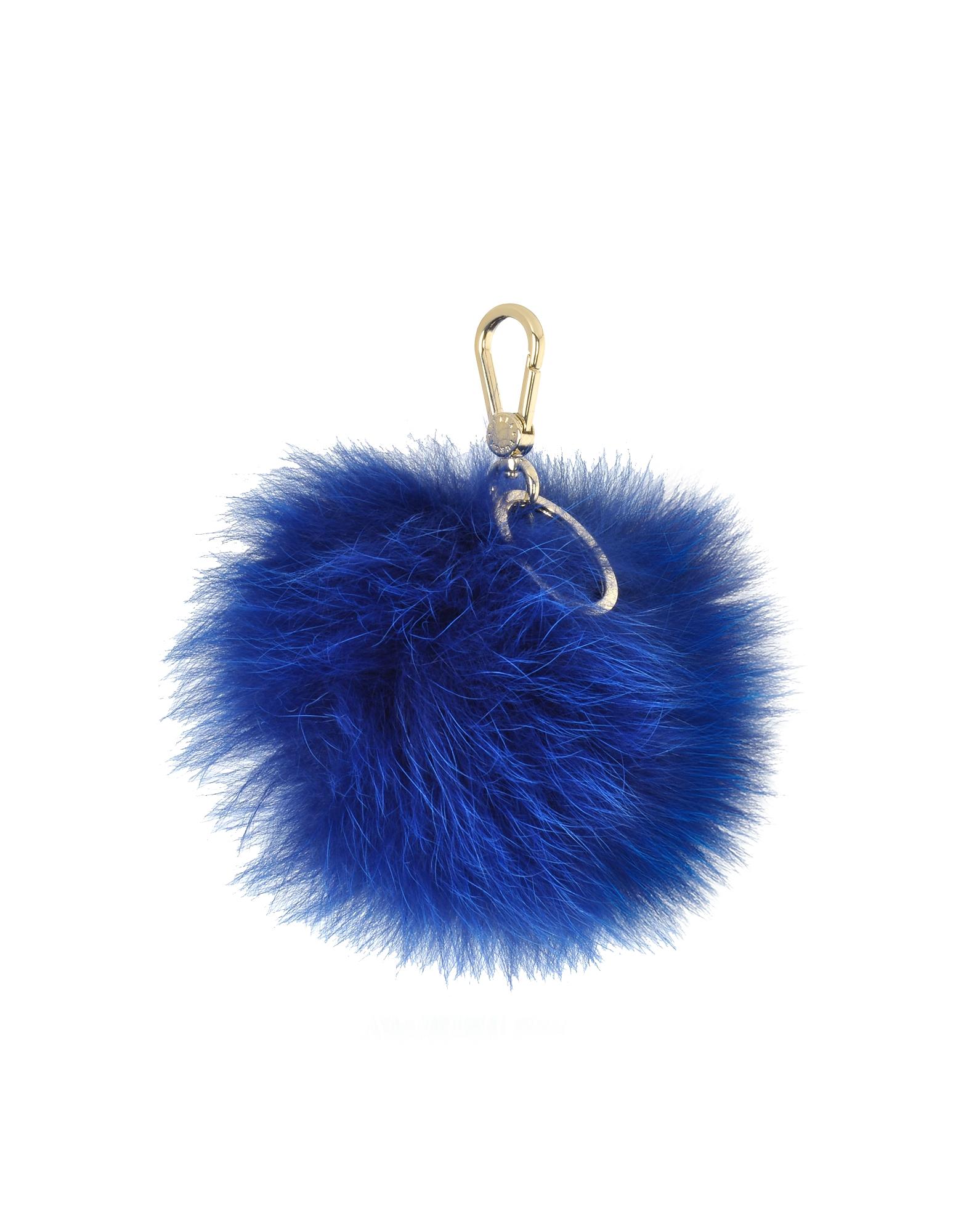 Bubble - Брелок для Ключей с Пом Поном из Меха