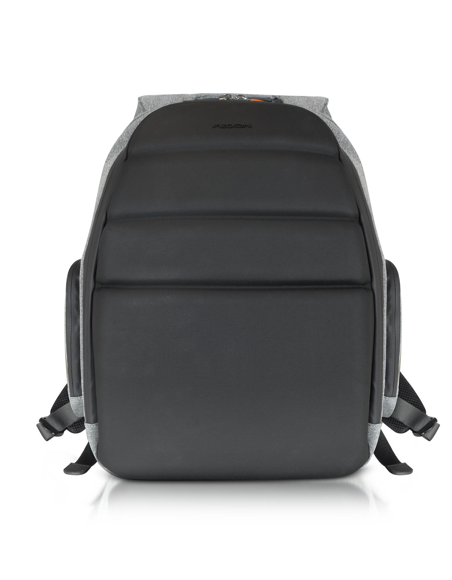 Ninja - Черный Рюкзак из Ткани с Отделом для Ноутбука 13