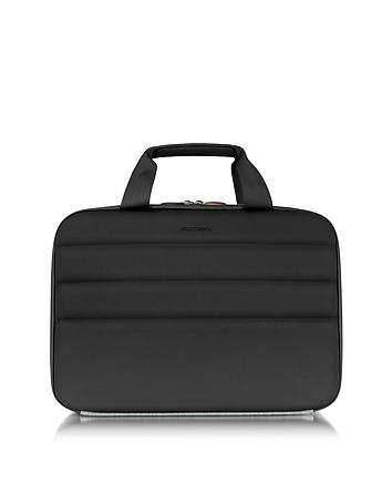 Ninja File 2 Black Coated Jersey 13'' Laptop Bag
