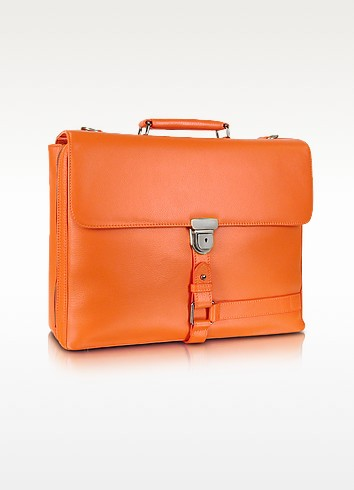 Wall Street - Grained Leather Laptop Briefcase - Giorgio Fedon 1919