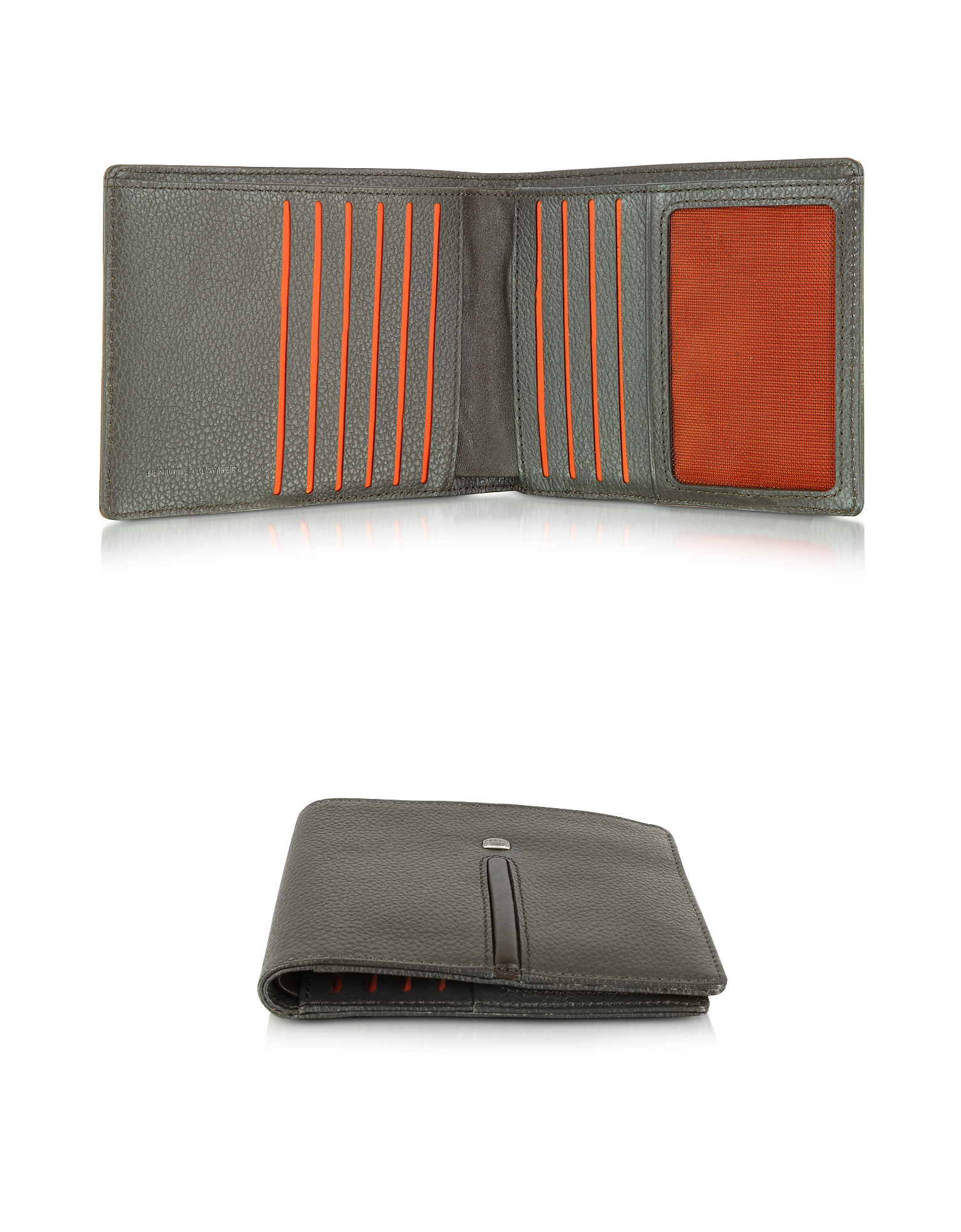 Web Collection - Dark Brown Small Men's Wallet от Forzieri.com INT