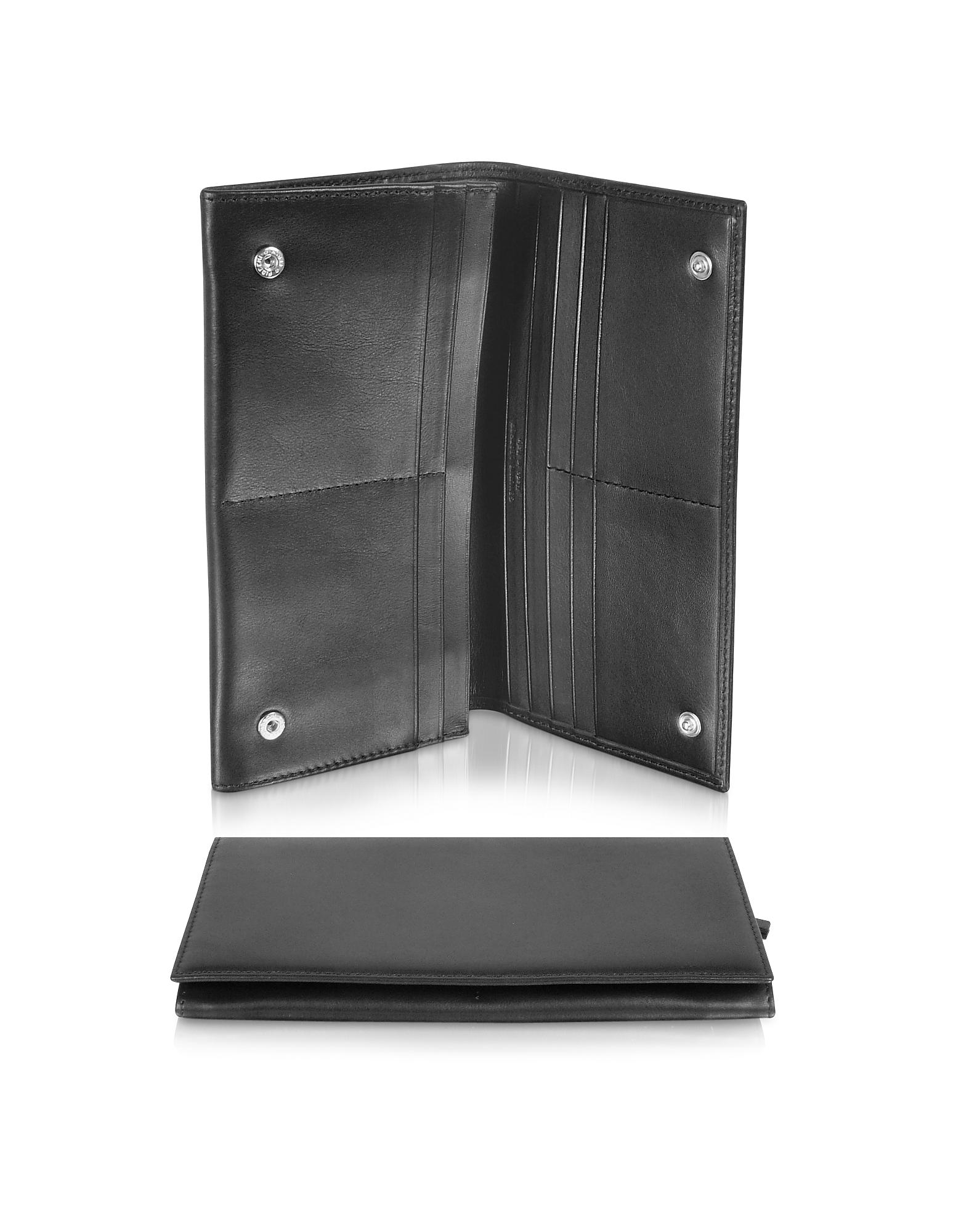 Classica Collection - Черный Кошелек из Кожи Теленка