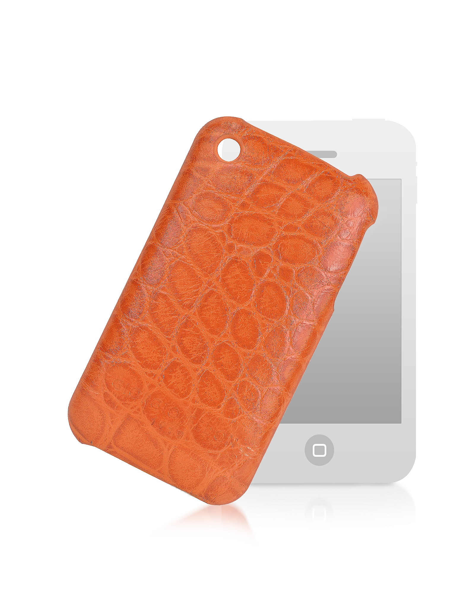 Porta iPhone 3 in Pelle Stampa Cocco