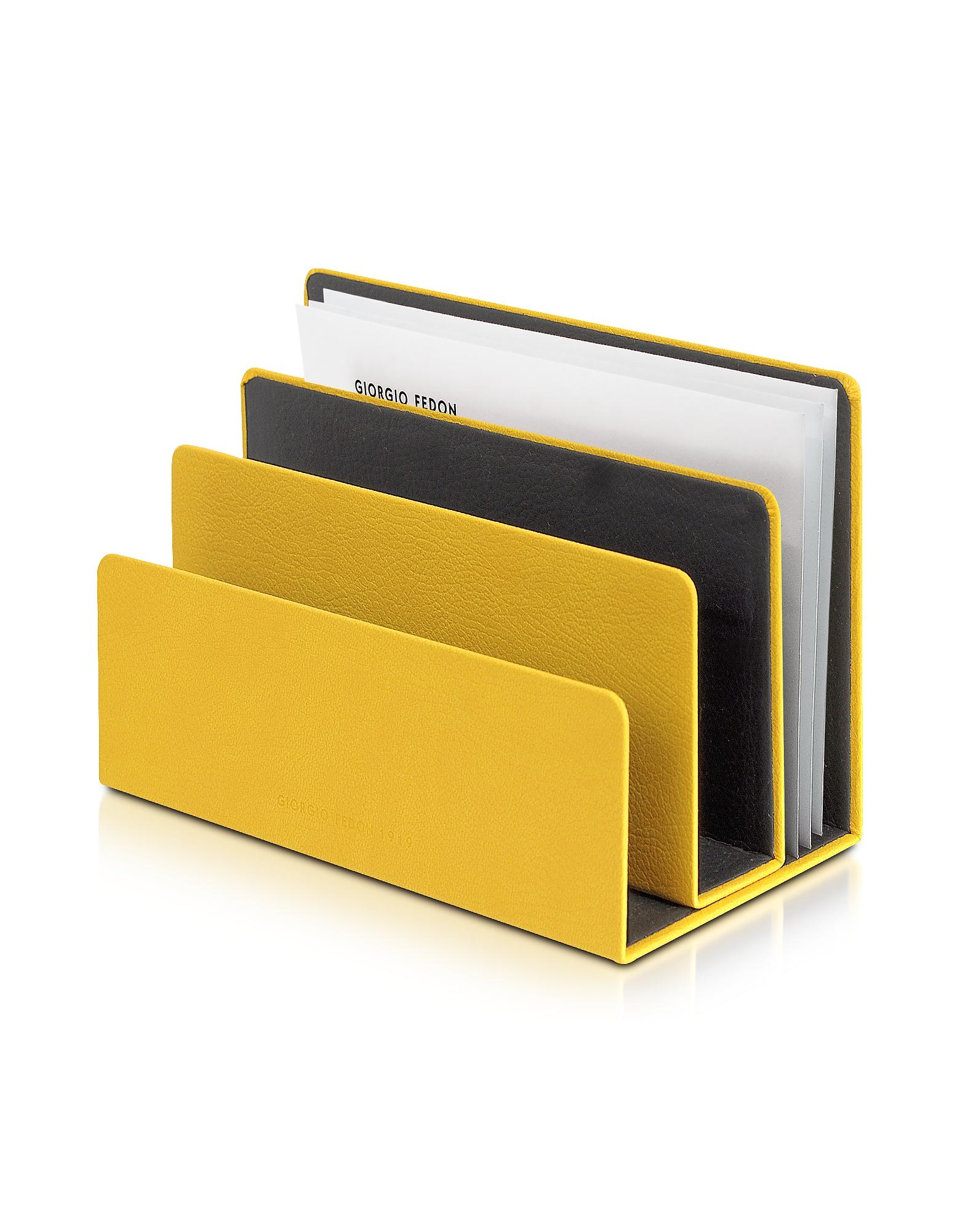 Фото Charme - Желтый Настольный Поднос для Писем. Купить с доставкой