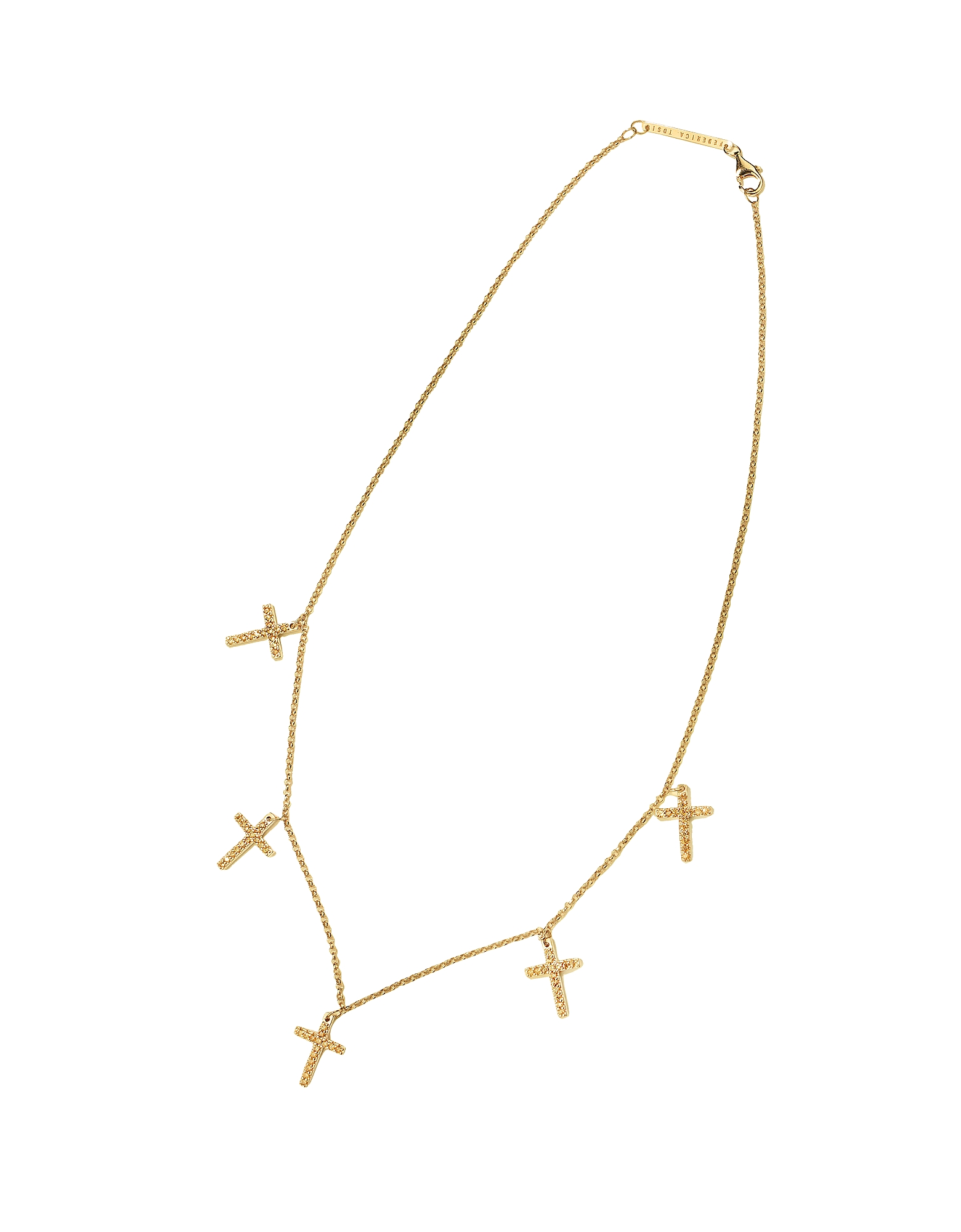 Federica Tosi Necklaces, Lace Faith Mini Necklace