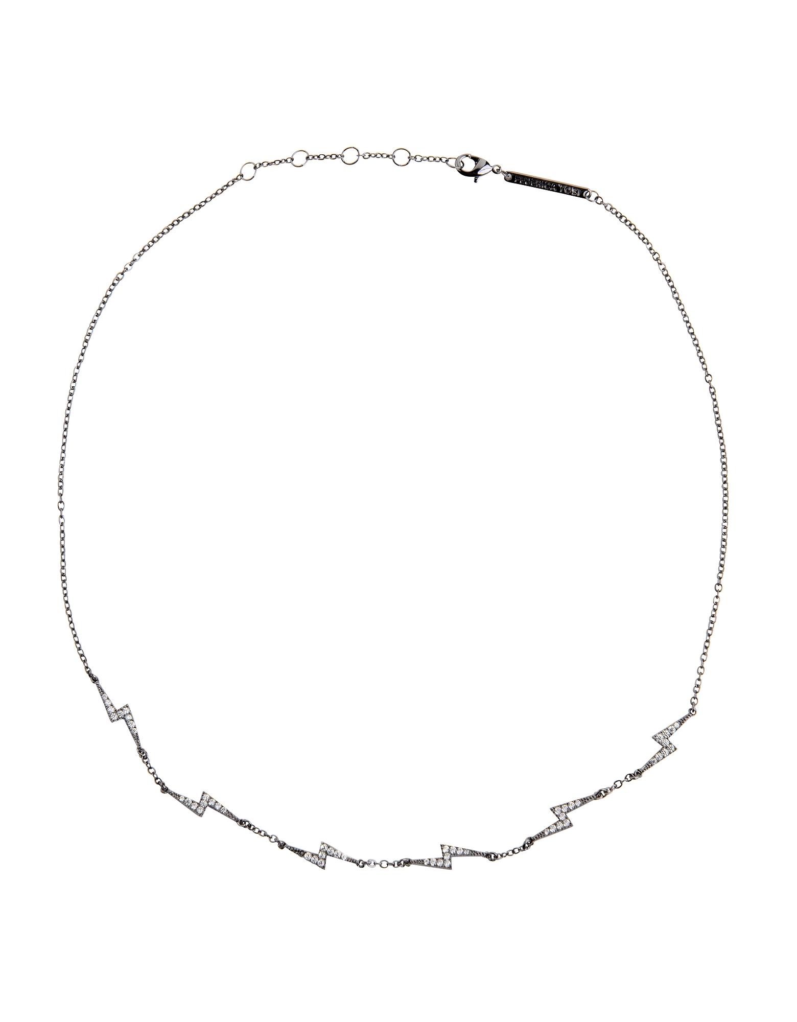 FEDERICA TOSI | Federica Tosi Designer Necklaces, Lace Mini Flash Necklace | Goxip