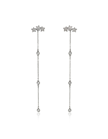 Mini Stars Long Earrings