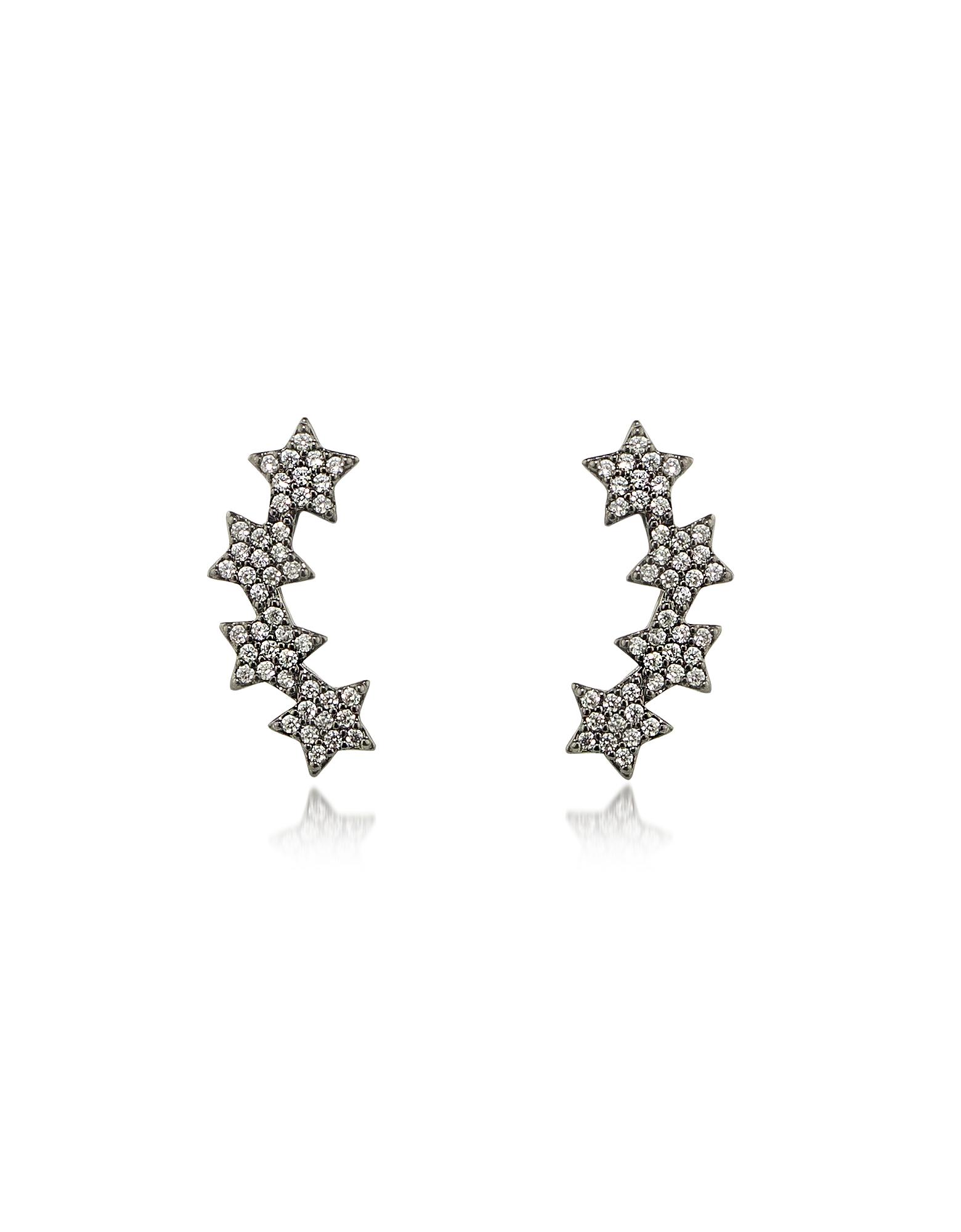 Federica Tosi Earrings, Lobo Multi Stars Earrings
