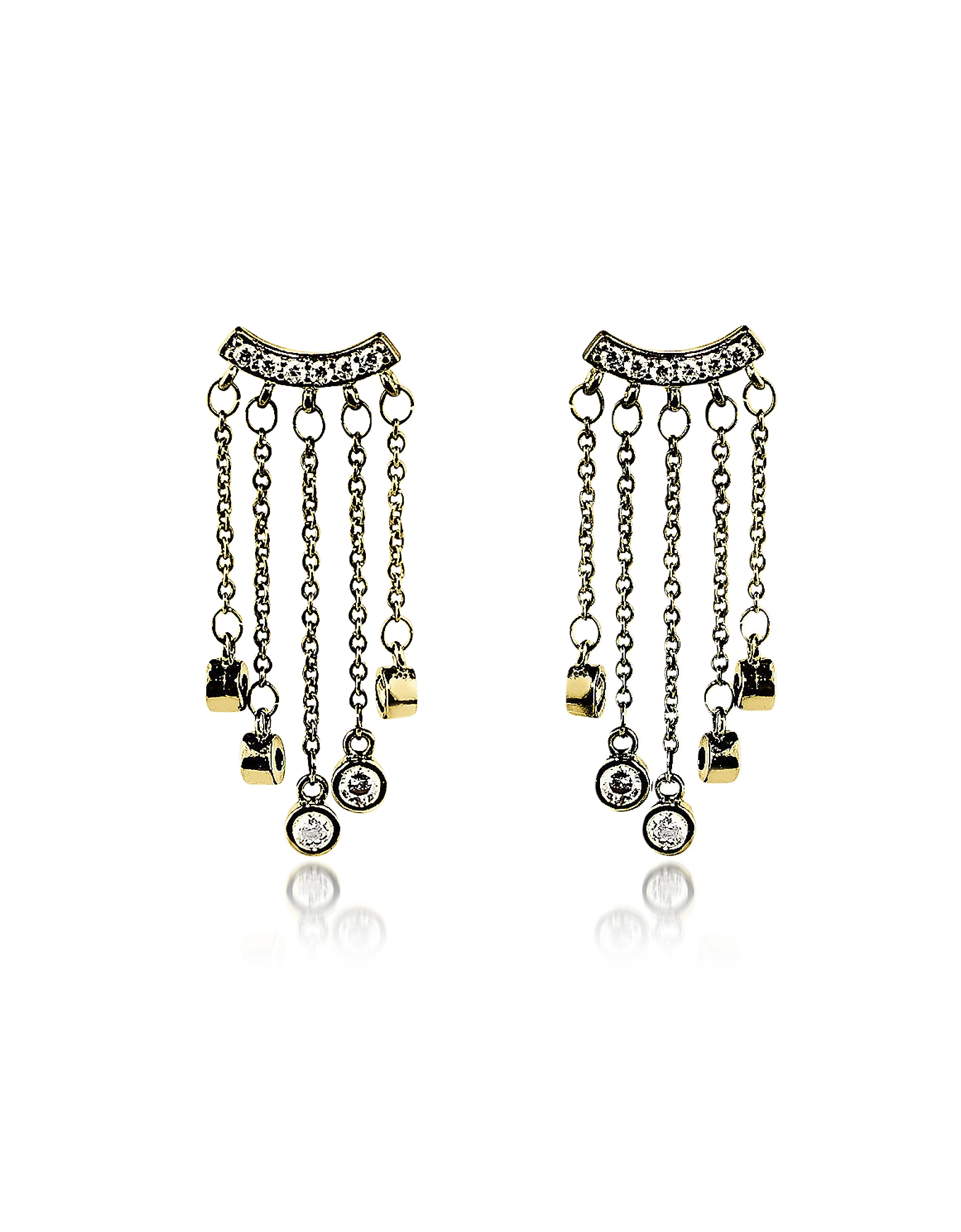 Federica Tosi Earrings, Small Rain Earrings
