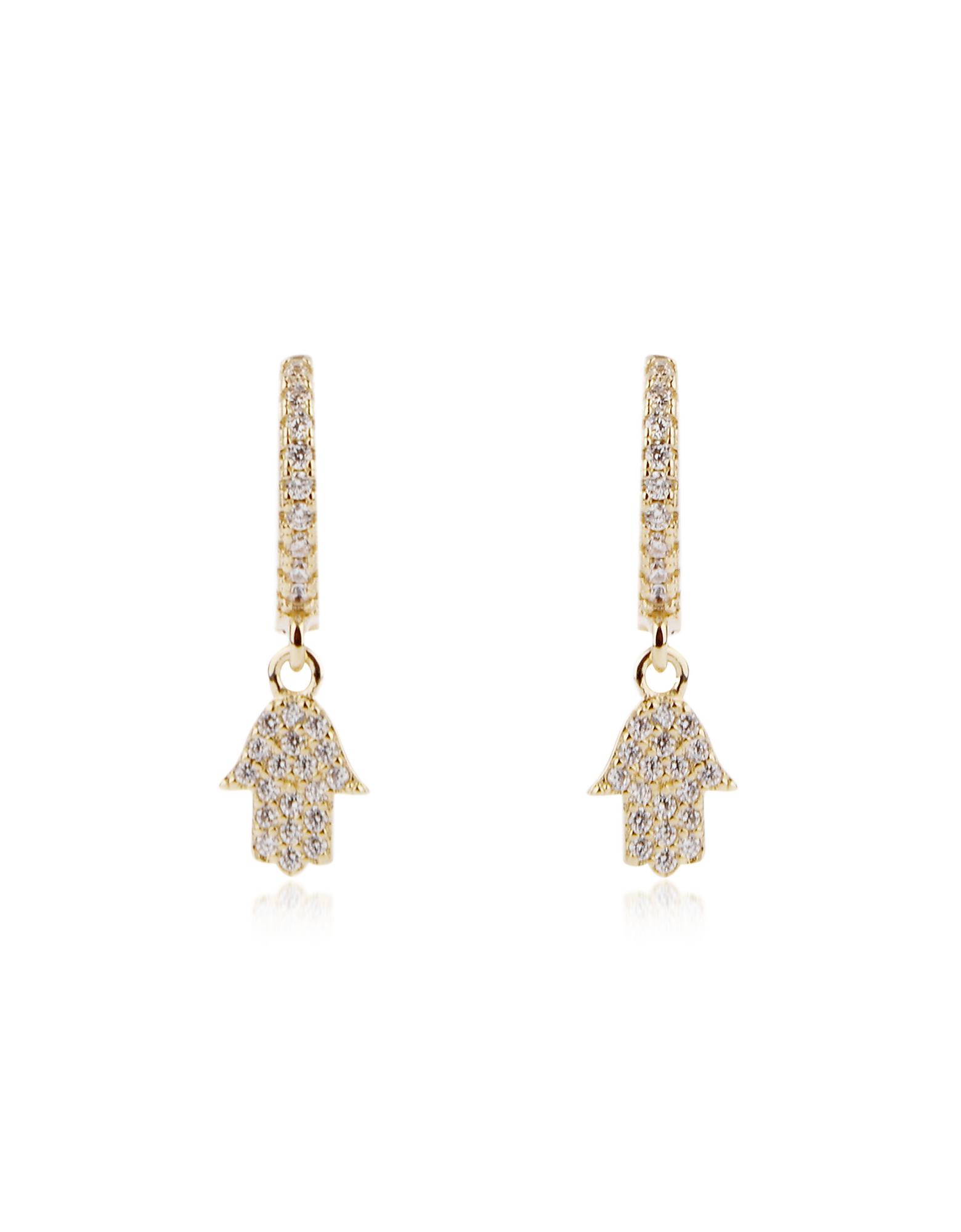 FEDERICA TOSI   Federica Tosi Designer Earrings, Lobo Hand Earrings   Goxip