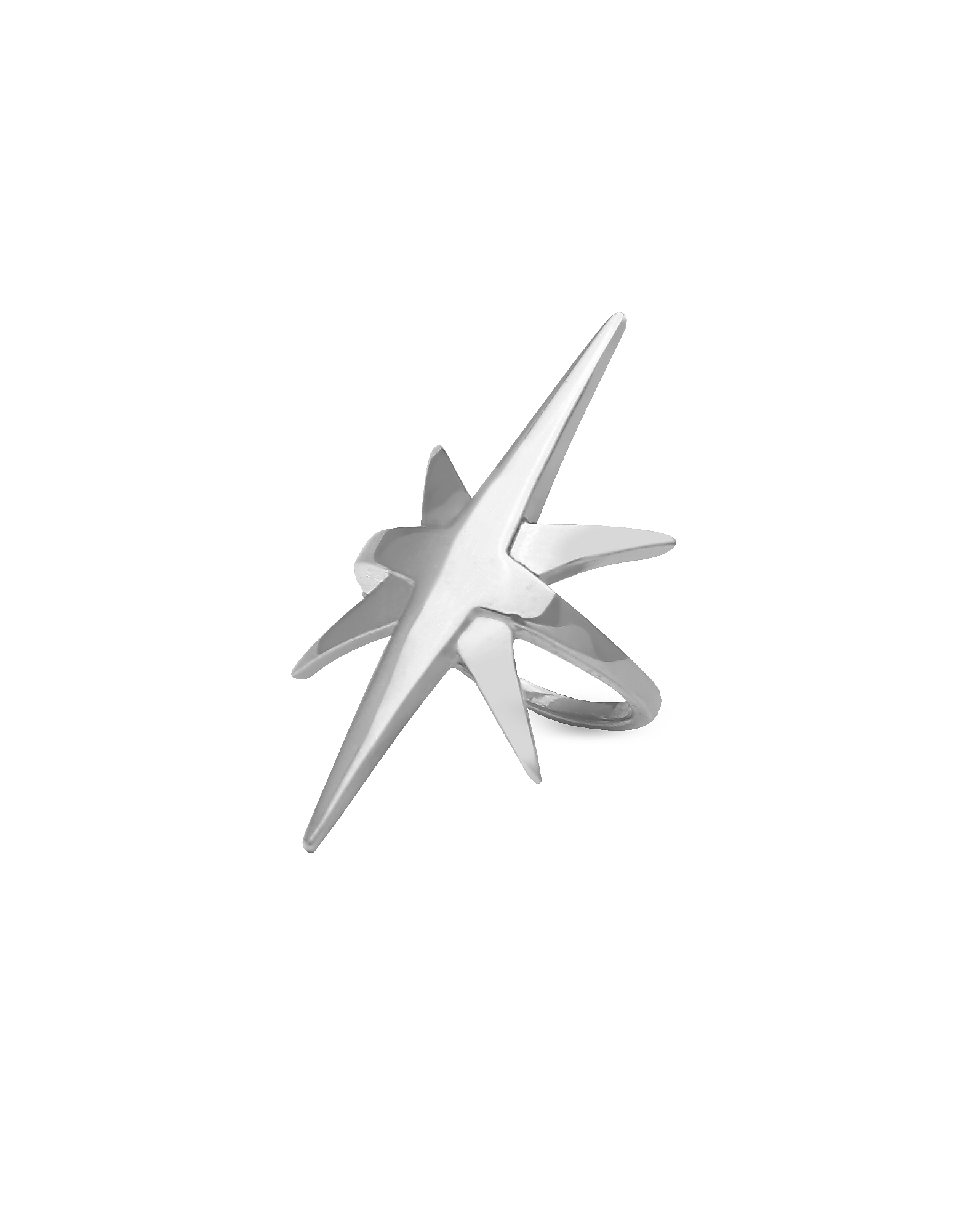 Comet Basic Ring, Silver