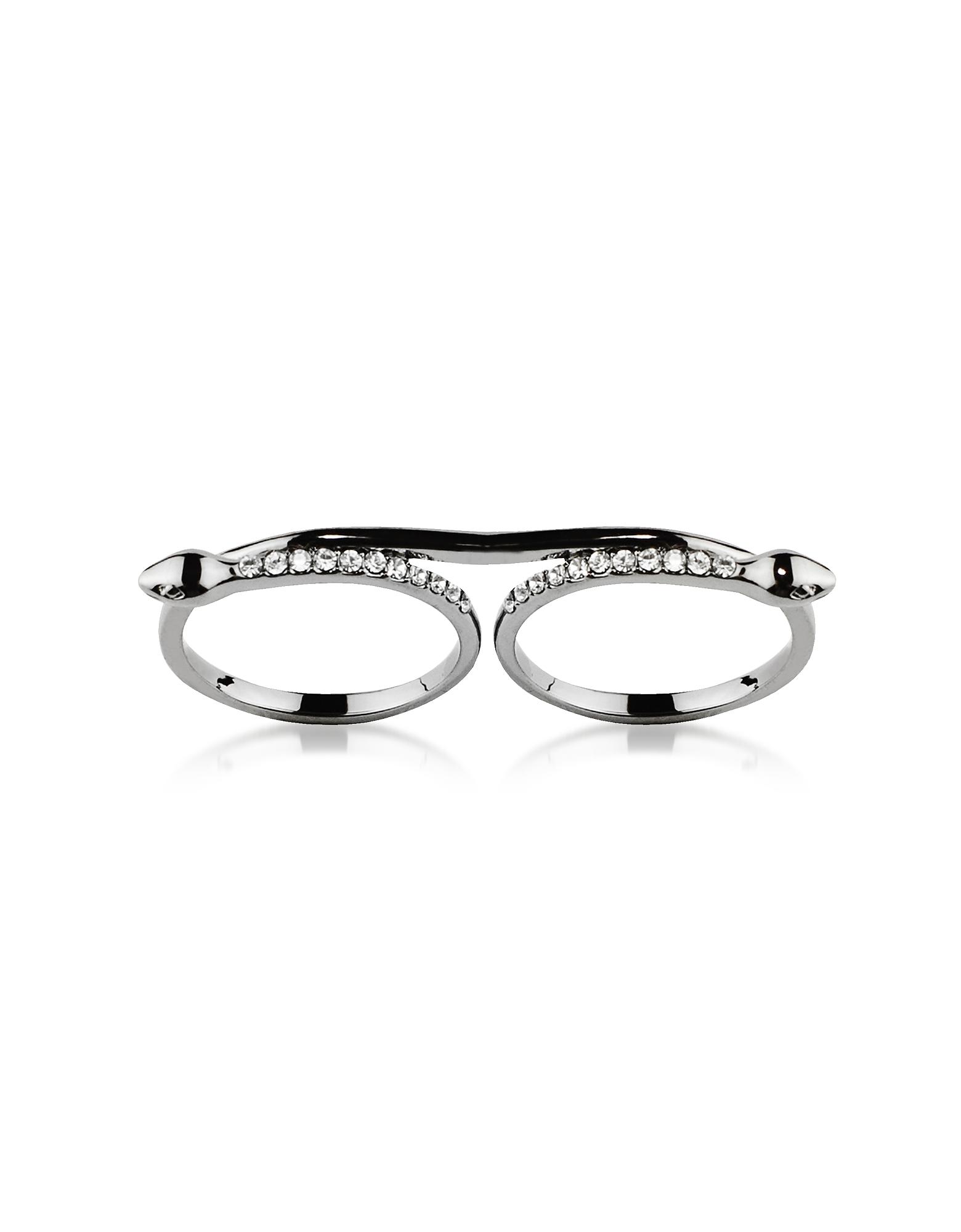 Federica Tosi Designer Rings, Double Snake Ring