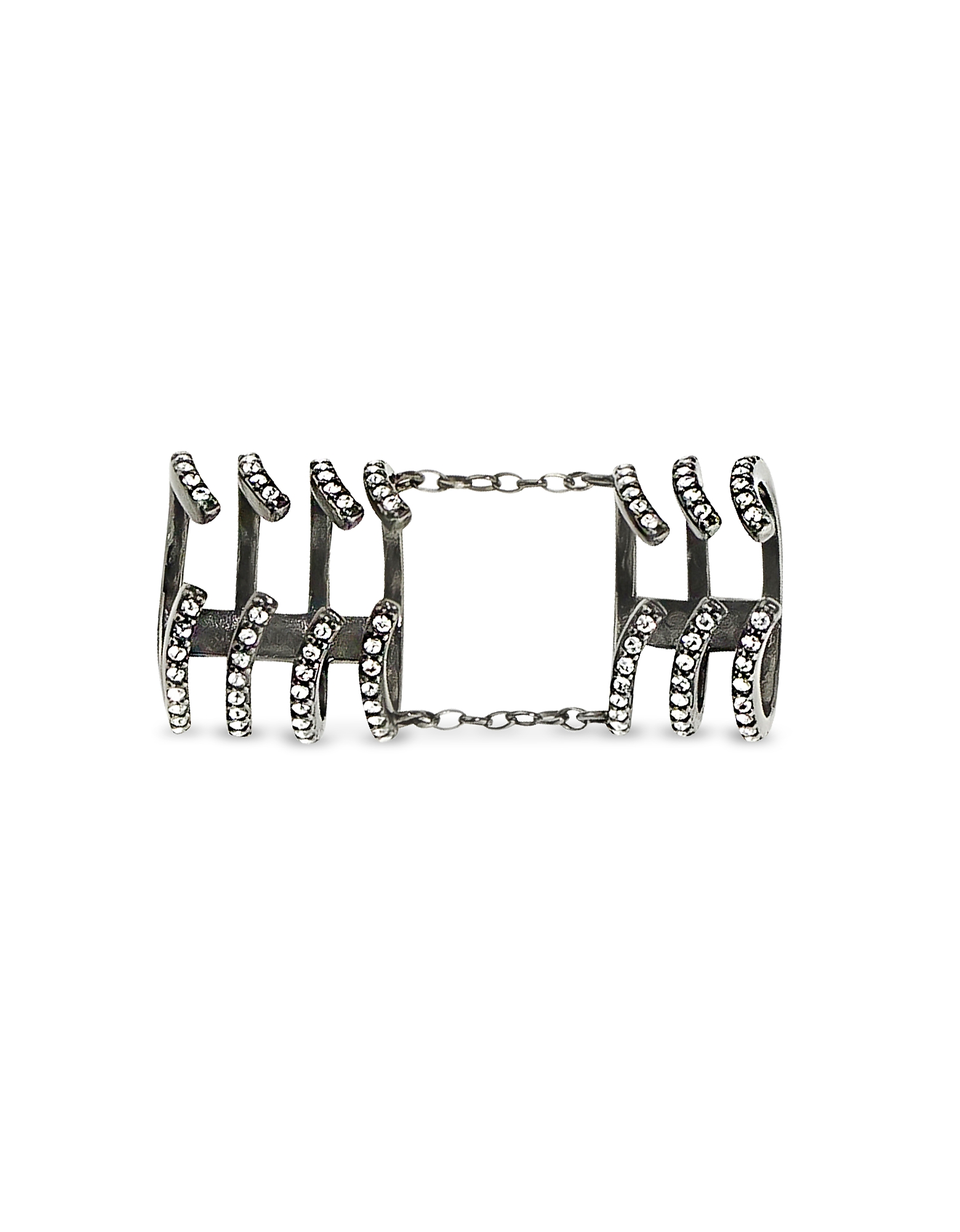 Armour Hook Ring, Black
