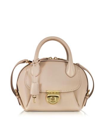 Mini Fiamma Leather Shoulder Bag