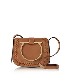 Sabine Sella Leather Small Crossbody Bag - Salvatore Ferragamo