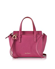 Amy Sangria Small Leather Handbag - Salvatore Ferragamo