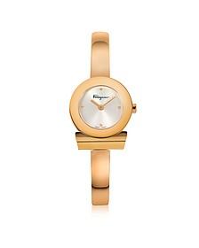 Gancino Gold IP Stainless Steel Women's Watch - Salvatore Ferragamo