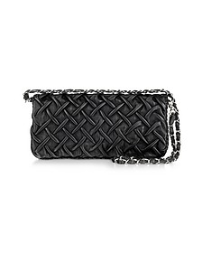 Pleated Nappa Leather Clutch - Fontanelli